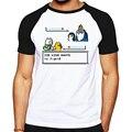 Tempo de aventura do geek 2016 nova moda t-shirt dos homens de manga curta camiseta musculação t shirts man clothing manga marca clothing