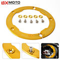 For Yamaha Tmax 530 2012 2013 2014 2015 Motorcycle Accessories Motorbike Cover Transmission Belt Pulley Cover Performance Gold