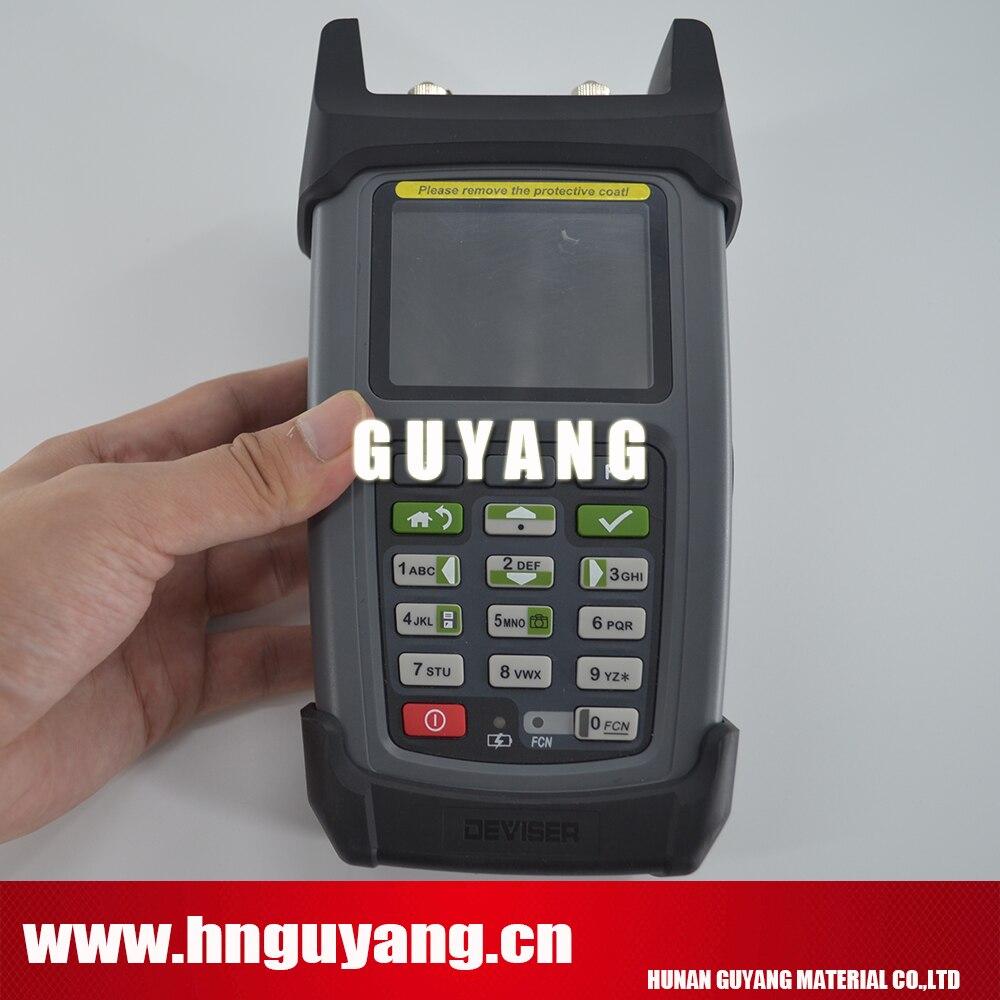 Ideatore DS2460Q 5 ~ 1220 MHz QAM analisi dello spettro Analisi Metro Veloce con funzione di Misurazione della Potenza e 10 mw VFLIdeatore DS2460Q 5 ~ 1220 MHz QAM analisi dello spettro Analisi Metro Veloce con funzione di Misurazione della Potenza e 10 mw VFL