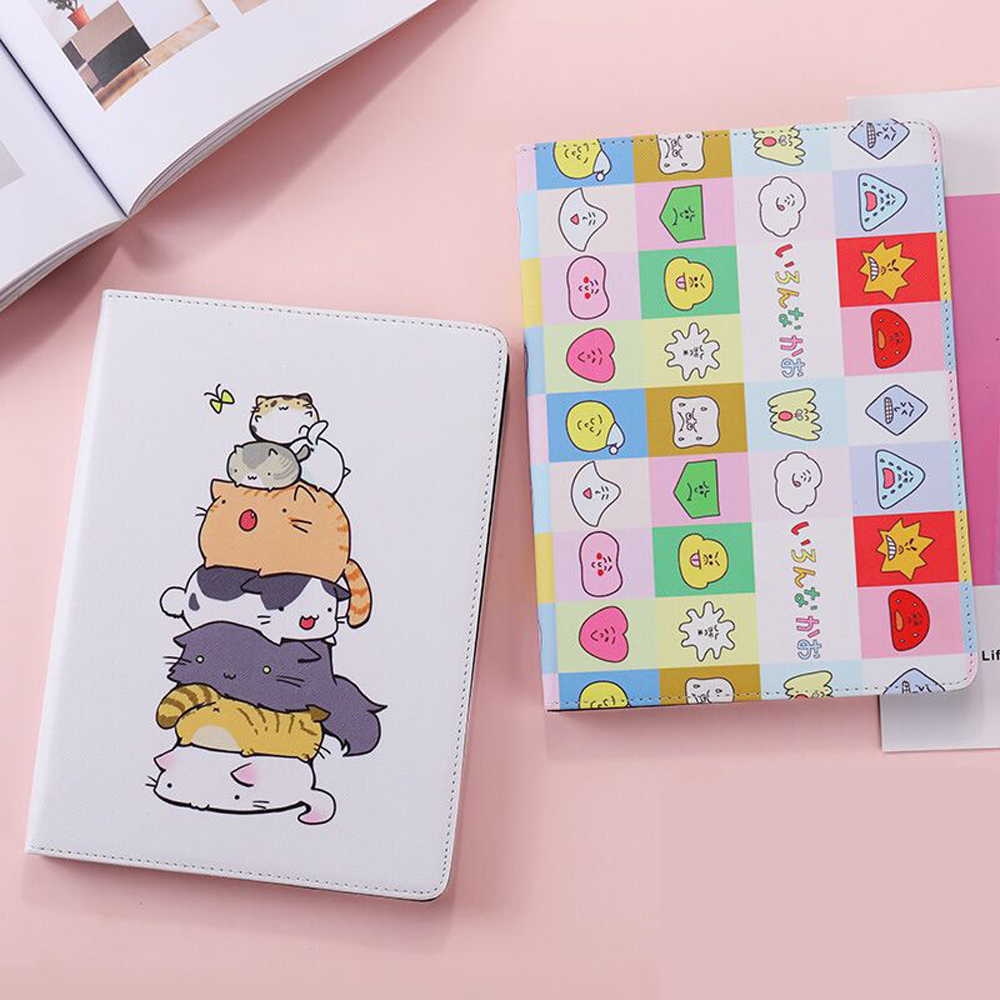 Cases For iPad Pro 9.7 Pro 10.5 Mini 4 3 2 1 Shockproof Cute Cartoon Protective TOTORO Fas