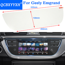 Car Styling GPS Navigation Screen Glass Protective Film Sticker For Geely Emgrand EC7 EC8 GC9 GL GS RS Control of LCD Screen
