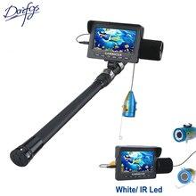 1000TVL Fish Finder Underwater Fishing Digital camera Equipment 4.3″ Video Monitor AntiSunshine Shielf Sunvisor 15/30m Infrared/White IR LED