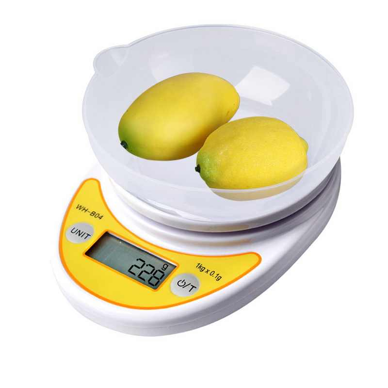 Junejour 5kg/1Kg 0.1/1g Digital Scales LCD Display Kitchen Scales  High Precision Electronic Scales Weight Scales for Baking Tea