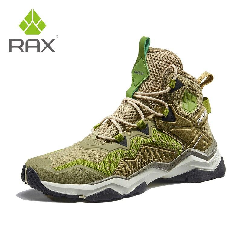 Rax hommes femmes chaussures de randonnée respirant bottes de montagne en plein air Trekking bottes sport baskets chaussures légères homme bottes tactiques