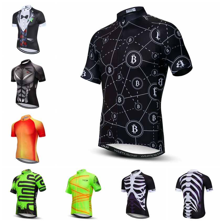 Sale Price Cycling Jerseys Friendly Paladin  Black And White Tiger  Mens Short Sleeve Cycling Jersey Bike Shirt Cycling Clothing