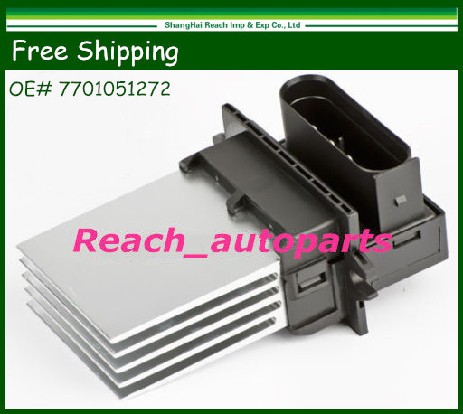 Free Shipping New Heater Blower Resistor For 1998-2013 Renault Clio II OE# 7701051272