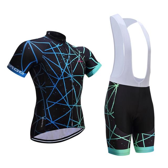 Crossrider 2018 Mens Pro Cycling Jersey Set Cycling Uniform Bike Clothing  Bicycle Wear Roadbike Clothes Short Maillot Culotte b6628d8bc