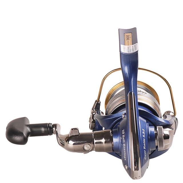Original DAIWA REGAL Spinning Fishing Reel 2000XIA 2500XIA 3000XIA 4000XIA Size With Double Spool 10BB 5.3:1 Pesca Moulinet 4