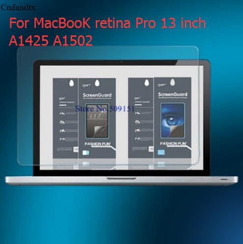 Tempered Glass Screen Protector For MacBooK retina Pro 13