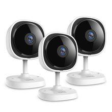 Sannce 1080 p fisheye câmera ip 3 peças sem fio wifi mini camara de segurança em casa 2mp hd visão noturna ir corte wi-fi monitor do bebê