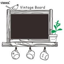 Kids Room Removable Drawing Picture Wall Chalkboard Blackboard Sticker Poster Black Board Decals Office School Supplies