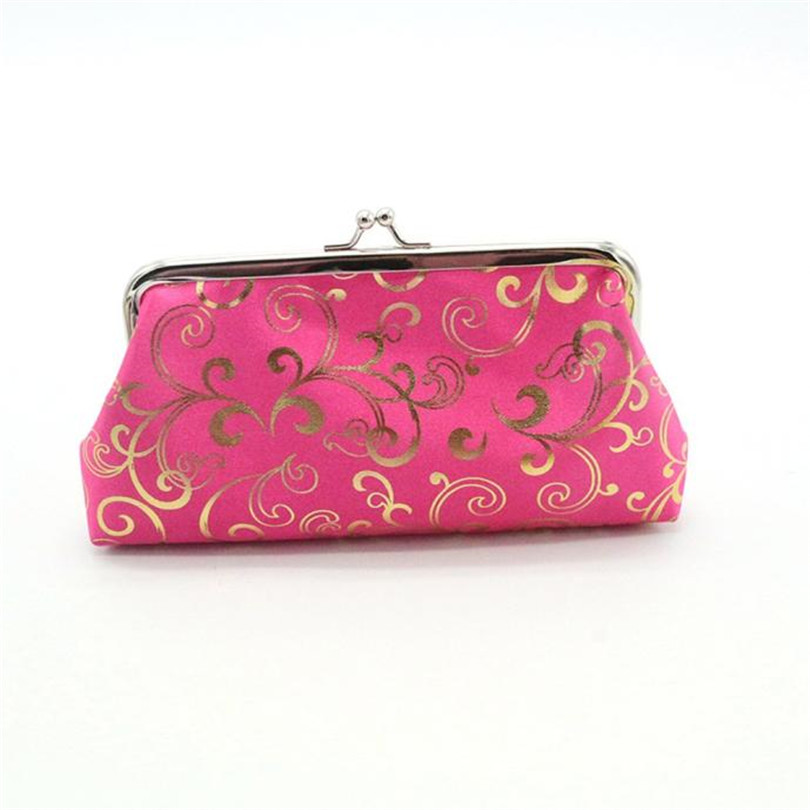 Designer Handbags QUILTED Clutch Coin-Purse Ladies Card-Holder Small Womens Wallet