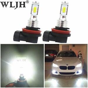 Image 1 - WLJH 2x Canbus 12V 24V H8 Led Bulb Fog Lamp Bulb H8 Light For BMW E39 E46 E60 E70 E72 E90 E92 E93 E81 E82 E84 F10 F15 F20 F25