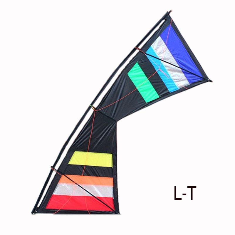 Sports d'amusement en plein air professionnels 100 pouces cerf-volant de cascadeur à quatre lignes cerfs-volants de Sport de puissance avec des outils volants - 4