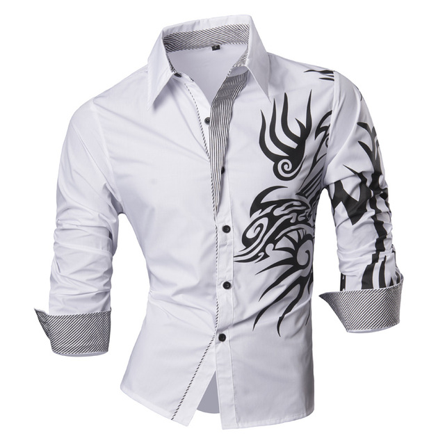 Men's Casual Slim Dress Shirts
