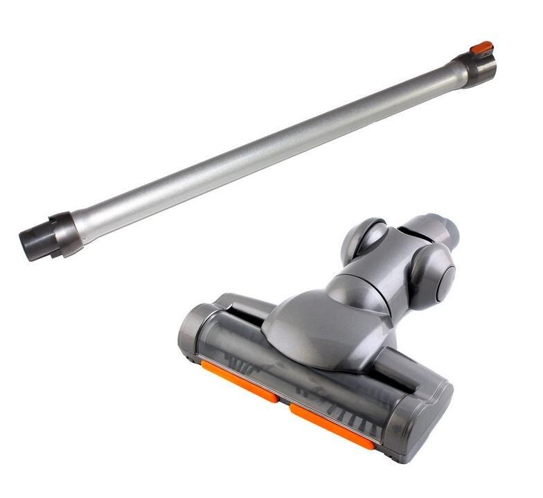 Handheld Cordless Motorized Floor Brush Swivel Head Turbo Brush Conductive extend tube hose for dyson DC31