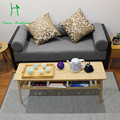 Real bamboo simple table living room coffee table office furniture