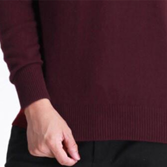 Classic men's cashmere sweaters 2017 pure color v neck wool casual pullover sweater  mens winter sweaters long sleeve tops