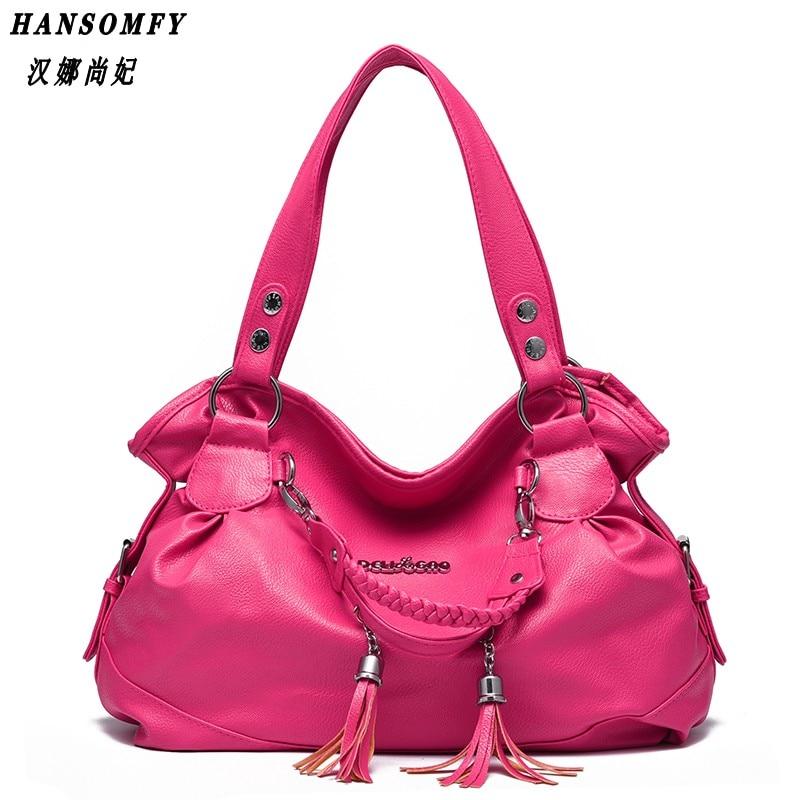 100% Genuine leather Women handbags 2018 New classic casual bag women tassel bag portable shoulder bag women Messenger цены онлайн