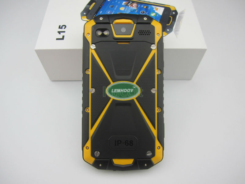 IP68 Waterdichte Telefoon Shockproof Radio Walike Talkie Unlocked mobiele telefoons originele VHF Telefoon Robuuste Android NFC S19 - 4