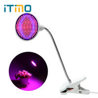 ITimo LED Plant Grow Light For Flower Vegetable Growing 6W 10W 20W E27 LED Growth Light
