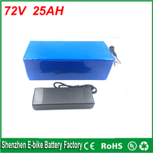 high quality 1000 times cycle 3000w Electric Bike Lithium Ion Battery 72v 25ah charger battery lithium 72v 1500w bike battery