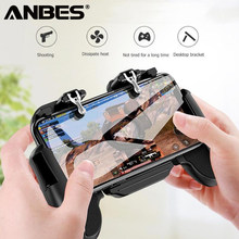 For PUBG Gamepad Cell Phone Mobile Control Joystick Gamer Game pad L1R1 controller for iPhone Xiaomi Android Cooler Cooling Fan(China)