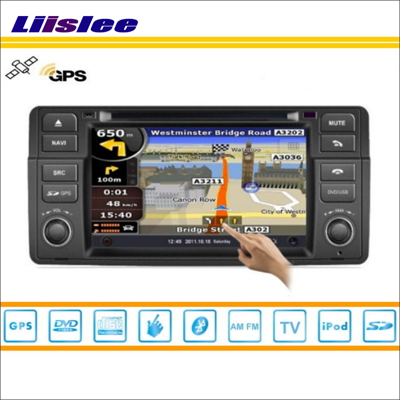 Liislee For MG 7 2007~2010 Car GPS Nav Navi Map Navigation System / Radio Stereo DVD iPod BT USB AUX HD Screen Multimedia System