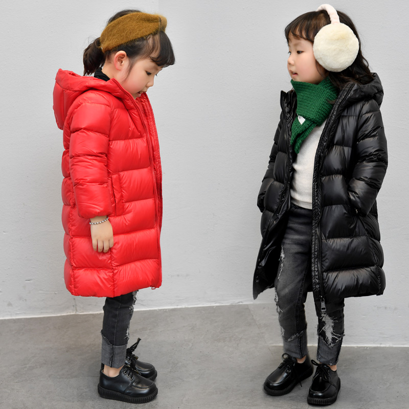 1-12 Years Kids Down Coat Thick Warm Boys Girls Winter Clothes Outwear White Duck Long Hooded Children Down Jacket Snow Wear children winter jacket duck down long thicker boys girls snowsuit hooded coat kids winter down jacket child clothing 12 years