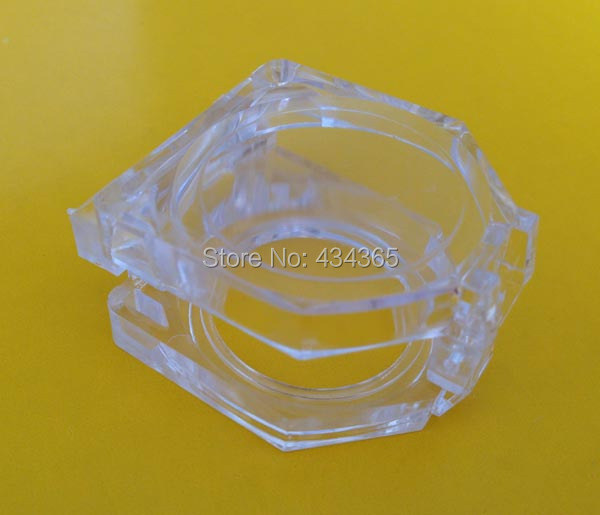 100pcs 22mm scatoline plastic clear swtich box Push Button Switch Transparent Protector safety Guard Cover