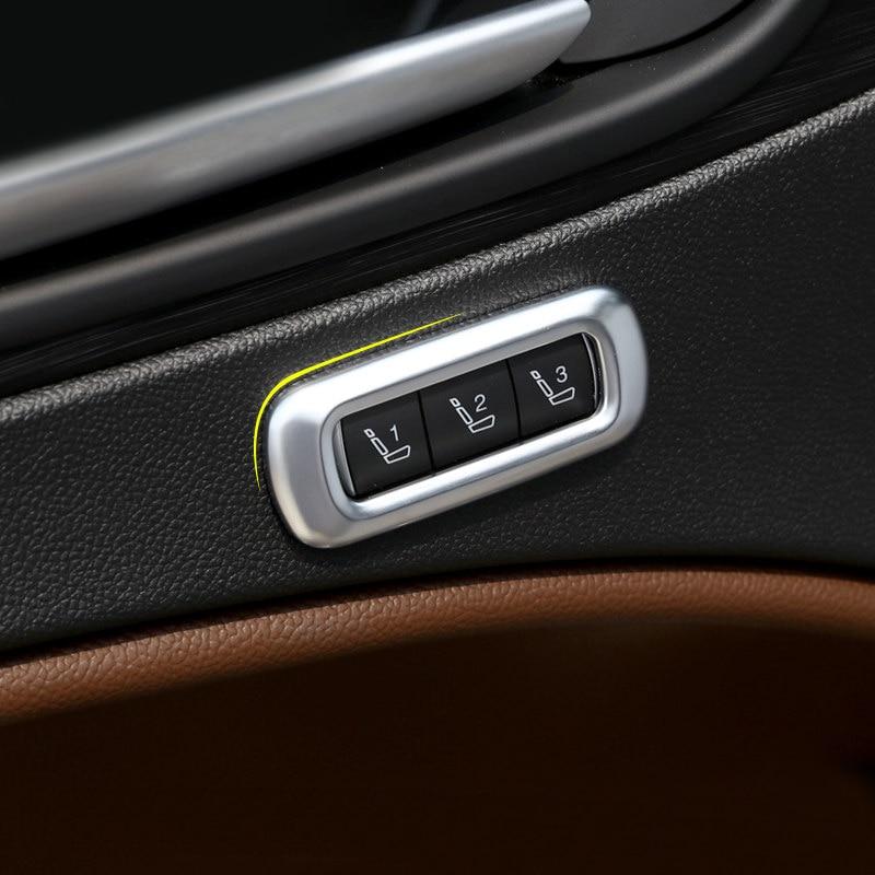 Alfa Romeo Giulia Stelvio 2017 2018 ABS mate coche-estilo de accesorios Interior del coche acondicionado ajuste recorte cubierta 1 piezas 2X soporte de taza de luz LED para coche automotriz Interior USB colorido atmósfera luces lámpara soporte de bebida antideslizante Mat Auto productos