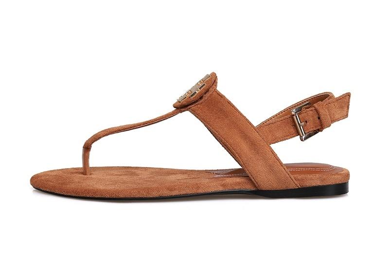 Hausschuhe strap Böhmen Bequeme Rom Neue Flache T Schuhe Frauen brown Flip Thong Strand Ferse Sandalen Black flops Marke Sommer pwwPaqB