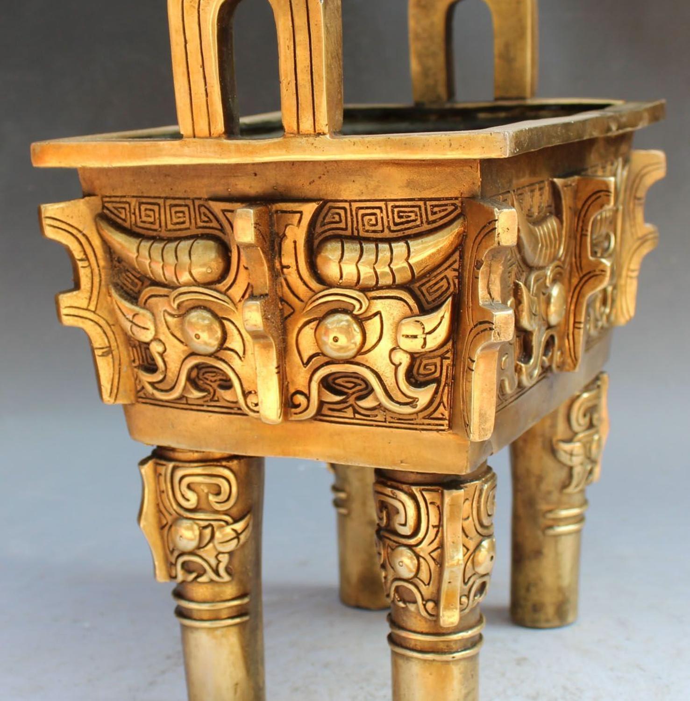 Chinese Dynasty Palace Bronze Incense Burner 4
