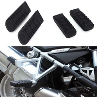 1pair For BMW R1200GS LC 2014 2017 / R1200GS ADV 2014 2017 Motorcycle Passenger Footrest Foot peg Footrest Rubber