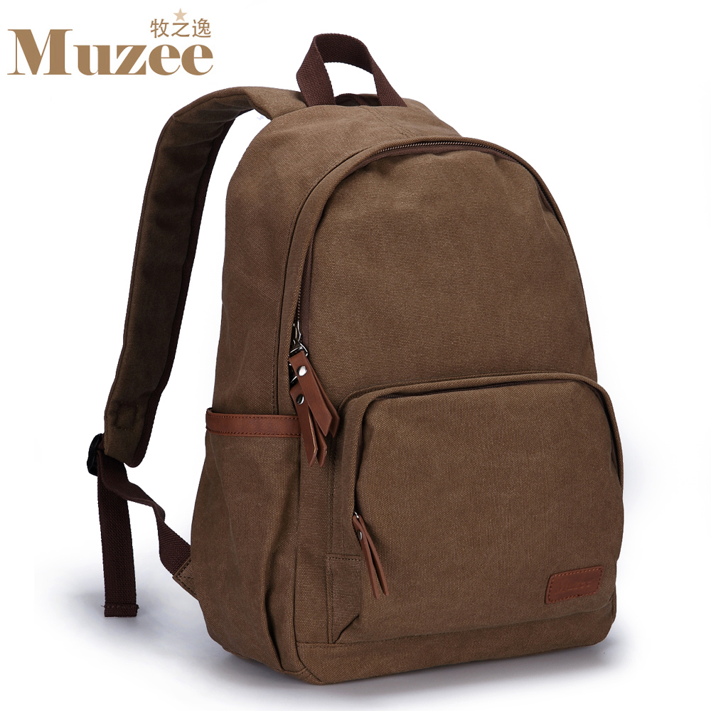 ФОТО New male backpack, canvas school backpacks bag man, brand design hiking backpacks for outdoor fun & sports, canvas bag men