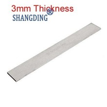 1 pc tokarka HSS do obróbki metali o grubości 3mm narzędzie do cięcia Bit x szerokość 6 8 10 12 14 16 18 20 25 30 35 40 45 50mm x 200mm długość tanie tanio SHANGDING Metalworking Inne