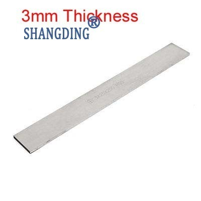 1pc Lathe HSS Metalworking 3mm Thickness Cutting Tool Bit x Width 6/8/10/12/14/16/18/20/25/30/35/40/45/50mm x 200mm Lenght