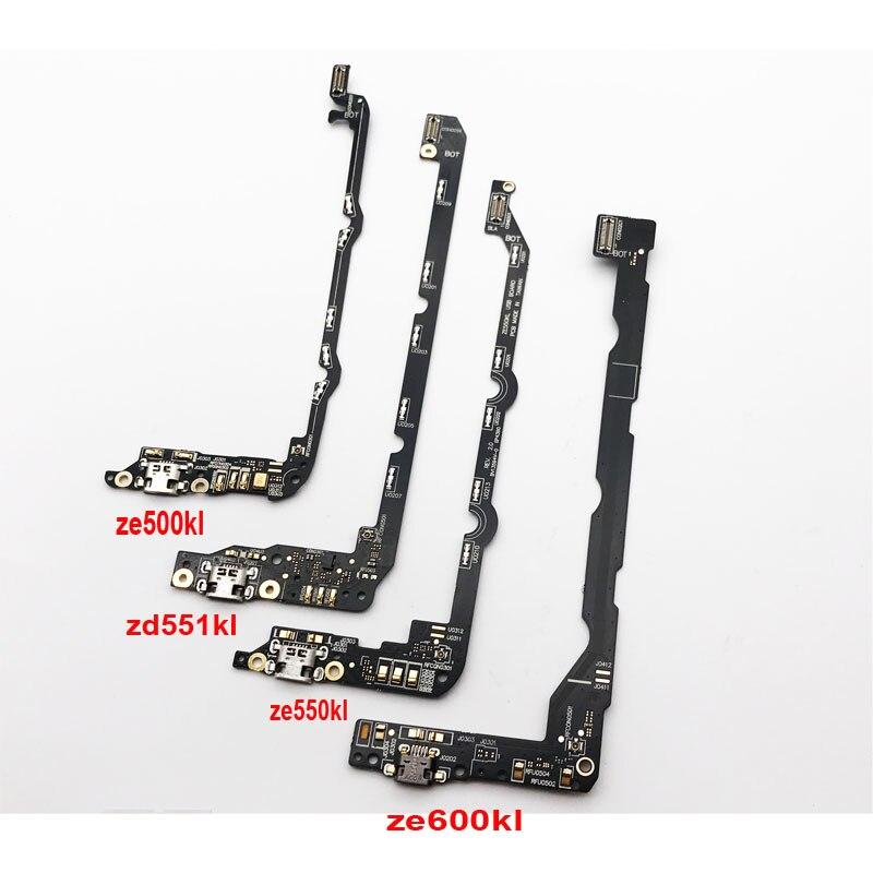 New USB Charger Dock Connector Charging Port Flex Cable Board For Zenfone 2 ZE500kL Laser ZE550kL Selfie ZD551KL ZE600KL ZE601KL