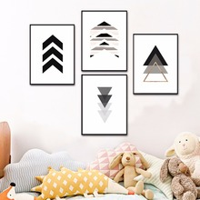 Arrow Set Scandinavian Artwork Canvas Art Print Painting Poster Wall Pictures For Living Room Home Decorative Decor No Frame