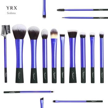 Sedona 16PCS Face Makeup Brush Set, Synthetic Hair Plastic Handle Makeup Brush set 3