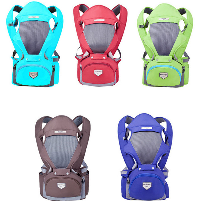 3 in 1 Baby Carrier Kid Hipseat With Belt Sling Breathable Ergonomic Backpack Kids Hip Seat Double-shoulder Stool christmas gift платье stella morgan stella morgan st045ewpsy29