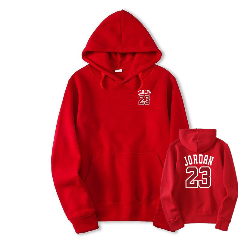 2018 Autumn New Mens Women black red Hoodies JORDAN 23 Fashion Printing Hip  Hop Hoodie Sweatshirt Men Women Hoody-in Hoodies   Sweatshirts from Men s  ... 00bb0a8ea