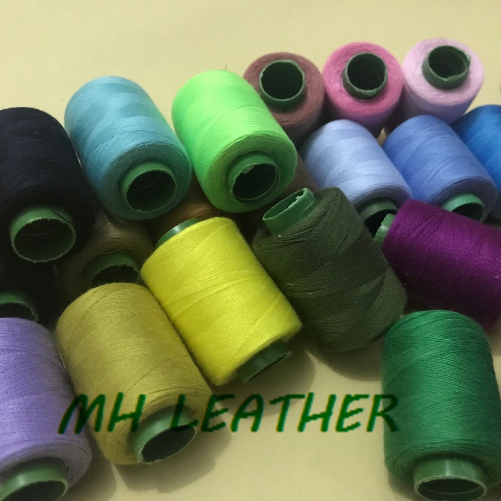 25 Colors Household Cotton Sewing Threads For Machine Colorful Embroidery String