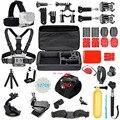 For Gopro HERO 5 Accessories Set Helmet Harness Chest Belt Head Mount Strap Monopod Go pro 4 3 SJCAM SJ4000 for xiaomi yi 4k 35