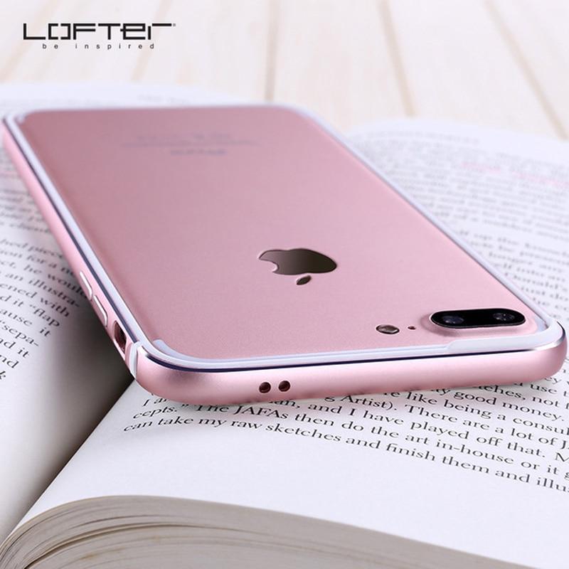 Marca maré criativa Da Apple 7 anti-queda 7 silicone capa protetora original máquina iPhone cor sólida além de armação de metal caso de telefone