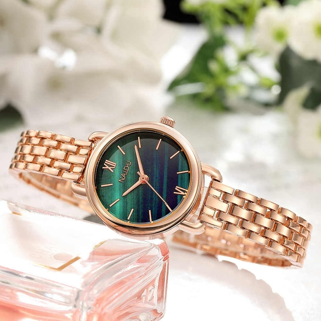 Fashion Bracelet Watches Women Luxury Brand Stainless Steel Ladies Quartz Dress