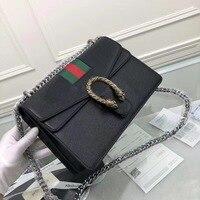 Biseafairy Newest Fashion classics messenger bag famous brand bags pearl women handbag exquisite lock cowhider shoulder b