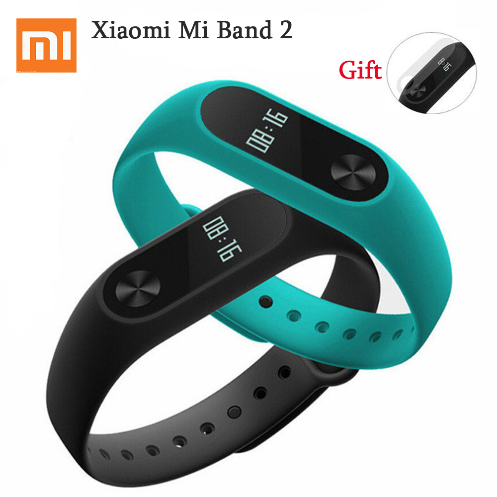 Stocked Xiaomi Mi Band 2 Mi Band 2 Wristband Bracelet With OLED Touchpad Support Monitoring Heart