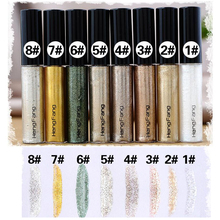 Shiny Makeup Lasting Eye Liner Liquid Long Waterproof Pearl Eyes Non-Blooming Makeup Multicolor Eyeliner Beauty Cosmetic Tools