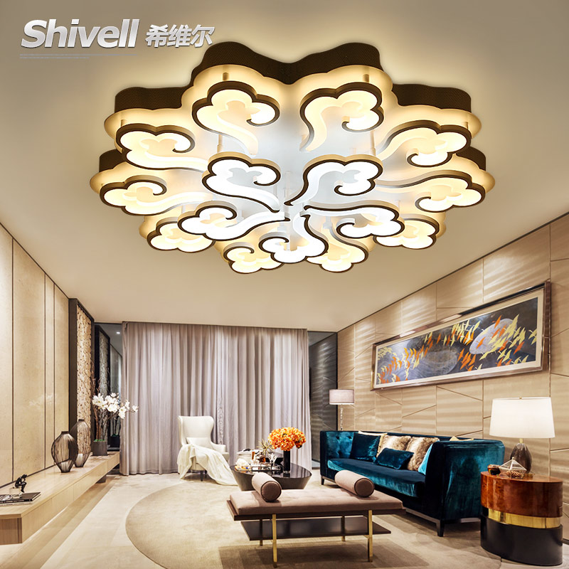 LED Novelty Acrylic living room ceiling lamps modern ceiling lights creative bedroom fixtures diningroom ceiling lighting цена 2017
